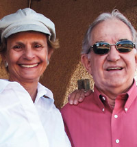 Anne Hillerman and Don Strel profile