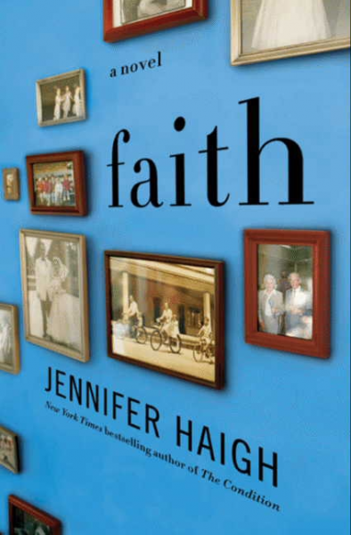 faith book jacket