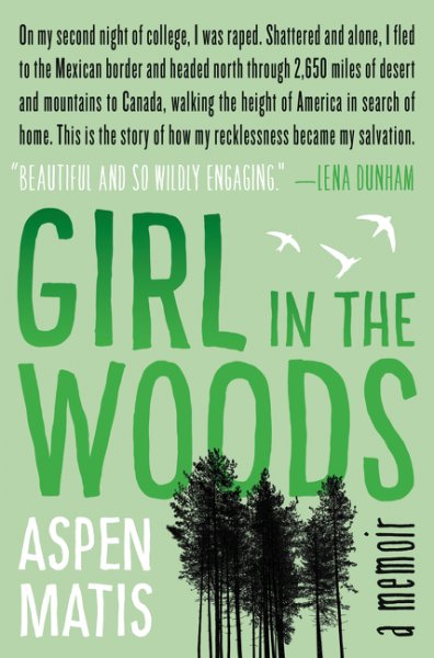 girl in the woods jacket