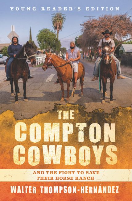 compton cowboys young readers edition jacket